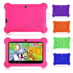 "New 7"" inch kids #android tablet pc quad core 4.4 wifi a33 dual #camera #allwinne,  View more on the LINK: 	http://www.zeppy.io/product/gb/2/262465662856/"