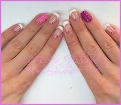 Semipermanente - french bianco classico e nail art || Madda.fashion