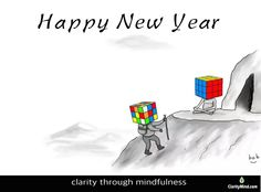 Helping leaders develop clarity through mindfulness training to be fully present, work smarter not harder for maximum business results. Mindfulness Training, Happy New Year, Clarity, Happy New Year Wishes