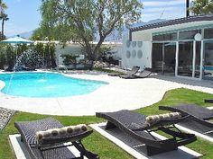 El Rancho Vista Estates Vacation Rental - VRBO 376649 - 3 BR Palm Springs, Central House in CA, Modern Mid-Century Wexler, Private Retreat Behind Walls