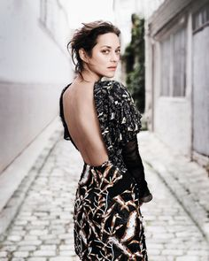 Marion Cotillard by Jan Welters for Madame Figaro via VF
