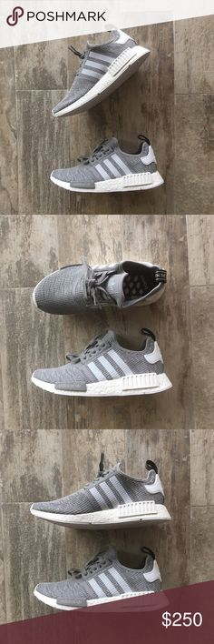 ADIDAS NMD R1 SNEAKERS -THIS IS A SIZE 9.5 MEN BUT WILL FIT SIZES 9-10  -I have listed these sizes to make it easier for you to find your correct size! PLEASE KNOW YOUR NMD SIZE BEFORE ORDERING!   -100% AUTHENTIC & COMES W BOX & RECEIPT FROM ADIDAS.COM!   🔺THESE ARE HIGHLY SOUGHT AFTER SNEAKERS, DEADSTOCK & COMES W POP! I've sold dozens of these and know how to price depending on color-way and size. Priced for offers🔺 Keep in mind Posh's 20% fee. 🚫NO TRADES/HOLDS🚫 adidas Shoes Sneakers