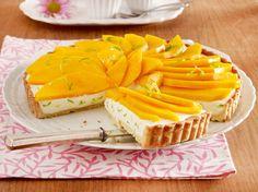 Unser beliebtes Rezept für Mango-Tarte mit Joghurt-Limettencreme und mehr als 55.000 weitere kostenlose Rezepte auf LECKER.de.