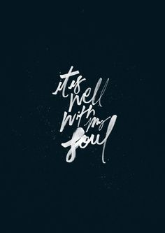 """It Is Well// """"So let go my soul and trust in Him, The waves and wind still know His name. Through it all, My eyes are on You and it is well with me"""" * * * View the original""""365 Worship Project!"""" Follow us onInstagram@the365worshipproject Like us onFacebooktheworshipprojectofficial"""