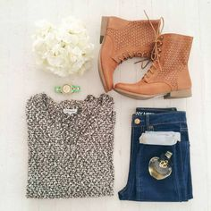 Daily New Fashion : Gorgeous Winter Teen Outfits