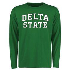 Delta State Statesmen Everyday Long Sleeve T-Shirt - Kelly Green