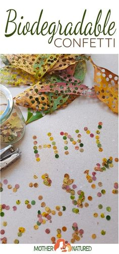 Go GREEN this New Years Eve with biodegradable confetti New Year's Eve Activities, Farm Activities, Outdoor Activities For Kids, Biodegradable Confetti, Biodegradable Products, New Year's Eve Crafts, Easy Crafts, Diy For Kids, Crafts For Kids