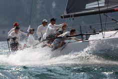 #regate #yachtracing #yachtracingphotography #vela #regate #sailing #sail #regata #regatta #race #audimelges32 #rivadelgarda #KeisukeSuzuki #ChrisDraper #MalParker #swing