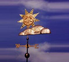 The West Coast Weather Vane art - Art Kaleidoscope