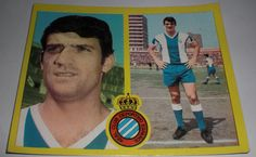 CROMO FUTBOL GLARIA III R.C.D. ESPAÑOL(SIN PEGAR)LIGA ESTE 1972-1973/72 73 ALBUM