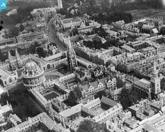 Dreaming spires: High Street, Oxford, in May 1920