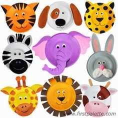 These are just too cute! Get out some paper plates, paints, wiggle eyes, yarn and anything else your kids can use to let their imagin...