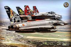 Aviones del Ejército del Aire Español