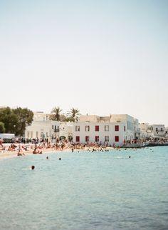 Mykonos island photographed by Marta Locklear (via Entouriste) #Mykonos #Greece