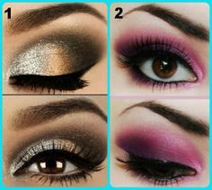 eye makeup for brown eyes step by step - Google Search