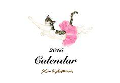 Xanbi Katsura illustration  2015 TNR charity bazaar calendar
