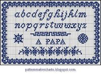 Free Easy Cross, Pattern Maker, PCStitch Charts + Free Historic Old Pattern Books: Sajou No 102