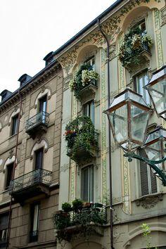 Facades, Torino, Italy