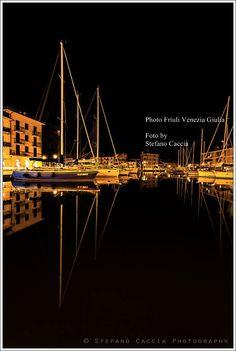 Riflessi dorati nelle calme acque del porto di Grado - By Stefano Caccia   Friuli Venezia Giulia Photo Selection