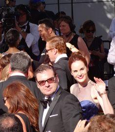 I spy Brendan Coyle and Michelle Dockery :)