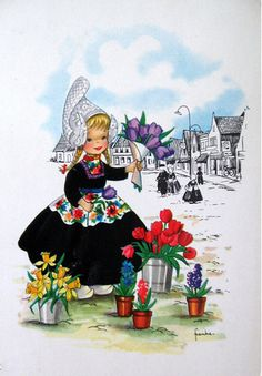 Girl selling flowers by Dutchgirl73, via Flickr