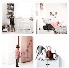 Gorgeous minimal girls room
