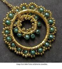 wire jewelry artist - Buscar con Google