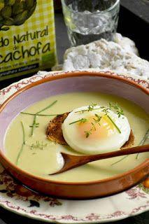 Gazpacho, Camembert Cheese, Creme, Easy Meals, Veggies, Yummy Food, Cooking, Breakfast, Healthy