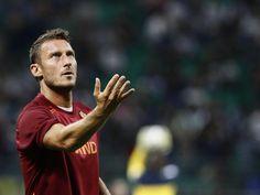 Fortsat tvivl om Totti før kampen mod Napoli!