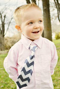 Little Boy Outdoor Photo Shoot Pink Shirt Chevron Tie - Utah Photographer - Follow Your Dreams Photography