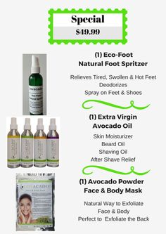 Father's Day Special Father's Day Specials, Radiant Skin, Avocado Oil, Fathers Day, 1, Father's Day
