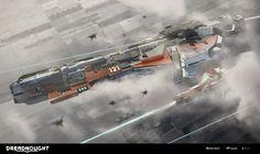DREADNOUGHT - Heavy Artillery Cruiser - Onager - Tier IV by Michael Oberschneider | Sci-Fi | 3D | CGSociety
