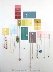 simple jewelry display idea