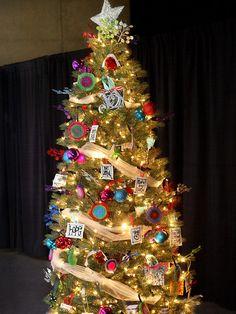 Colorido árbol de Navidad