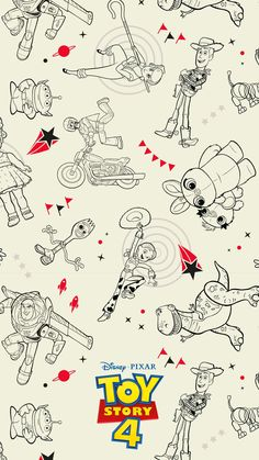 Go To Infinity And Beyond With These Disney and Pixar Toy Story 4 Mobile Wallpap. - Go To Infinity And Beyond With These Disney and Pixar Toy Story 4 Mobile Wallpapers Disney Phone Wallpaper, Iphone Wallpaper, Dibujos Toy Story, Walt Disney Pictures, Toy Story Party, Cute Cartoon Wallpapers, Mobile Wallpaper, Disney Art, Planer