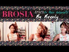 Boho Wave Hair Tutorial + My Bu Beauty Experience - YouTube