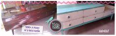 cajonera americana totalmente reciclada Dresser, Furniture, Home Decor, Chinese Flowers, Drawer Unit, Powder Room, Decoration Home, Room Decor, Stained Dresser