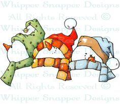 snowmen Digital Stamps - Cerca con Google