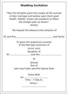 Muslim Wedding Invitation Wordings,Muslim Wedding Wordings,Muslim Wedding Card Wordings,Islamic Wedding Invitation Wordings