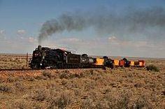 Williams, Arizona.  The Grand Canyon Railway.
