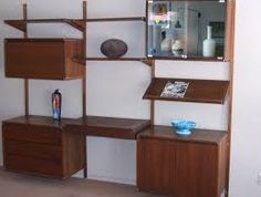mid century modern wall unit - Google Search