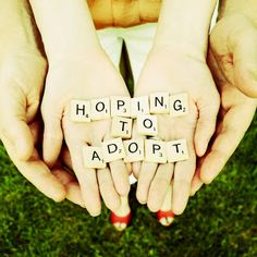 We are...HOPING TO ADOPT! This image will link you over to our adoption site. #adoption #hopingtoadopt
