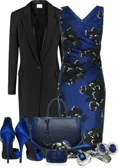 Stylish Eve Blue Dresses