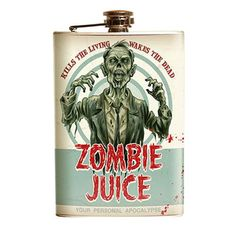 Zombie Juice Stainless Steel Flask