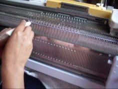 tejer a maquina leccion 1: INTRODUCCION AL TEJIDO A MAQUINA - YouTube