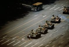 The Tank Man. Tiananmen Square, China. 1989. – Magnum Photos