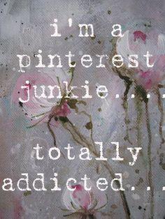 pinterest junkie....