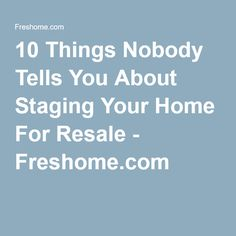 1000+ ideas about Home Staging Tips on Pinterest