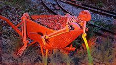"""Achtung """"HORRORKUTSCHE"""" gesichtet + Grusel Geister Schreckgestalten u. U... Horror, Wheelbarrow, Austria, Garden Tools, Film, Ghosts, Movie, Film Stock, Yard Tools"""