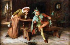 Francis Sydney Muschamp (British, 1851-1929) - The Jester